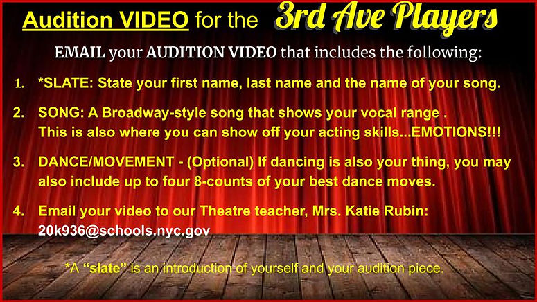 AO3 Site-Audition Info-District Wide The
