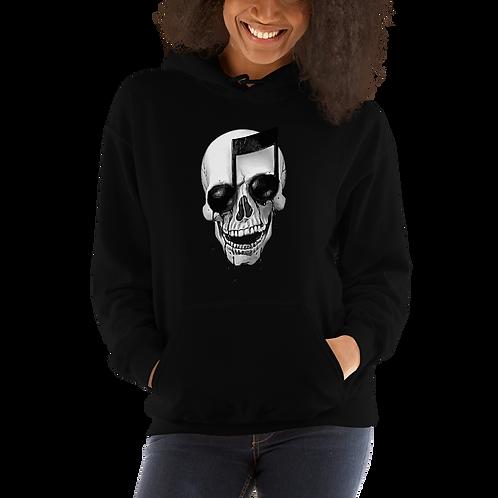 Unisex Skull Music Hoodie