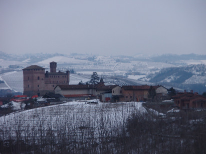 GRINZANE CASTLE AND SNOW.JPG