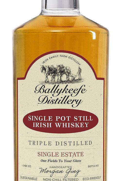BallyKeefe Single Estate Pot Still Irish Whiskey Cask Strength 70cl. bottle