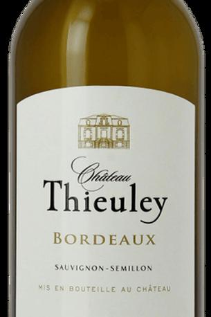 Château Thieuley Bordeaux Blanc,  12b. carton