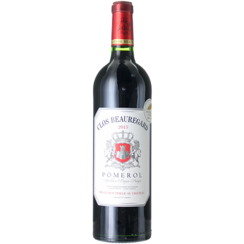 Clos Beauregard, a.o.c. Pomerol, Bordeaux, owc 6b. case
