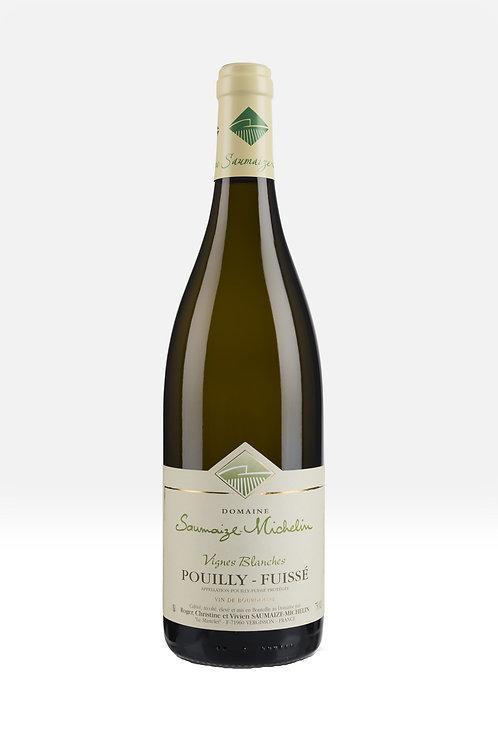 Pouilly-Fuissé Les Vignes Blanches, Domaine Saumaize-Michelin 12b. carton