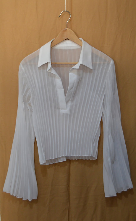 Camicia plisè