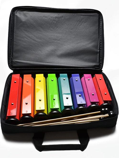 Dzwonki na tubach - zestaw diatoniczny w kolorach Bum Bum Rurek®