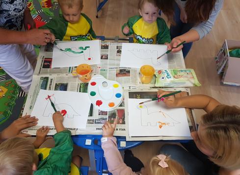 Bardzo dużo się uczymy, doskonale się bawimy!
