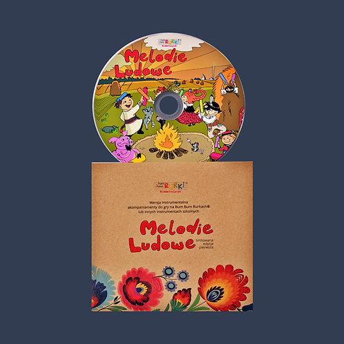 Melodie ludowe - CD