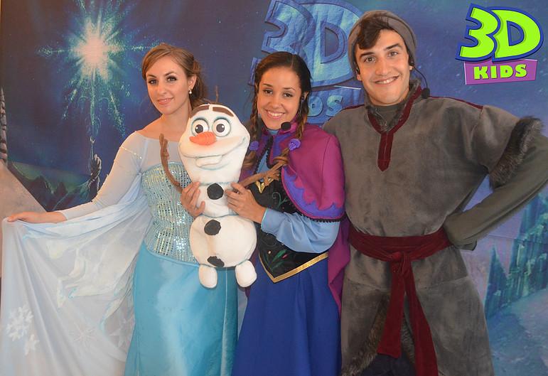 Animaciones Frozen en Ensenada