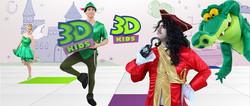 Peter Pan y Garfio Animaciones