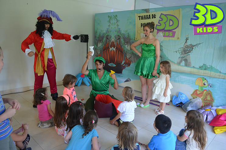 Peter Pan, eventos infantiles