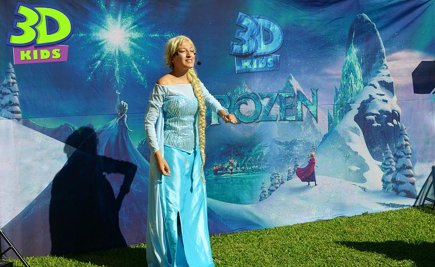Animaciones Anna y Elsa