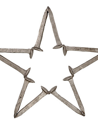 Reclaimed/Rustic Iron Freedom Star
