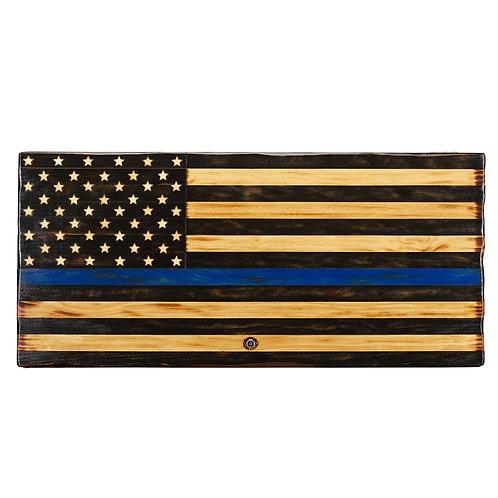 Rustic American Flag Concealment Boxes