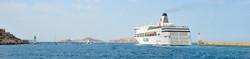 Un ferry scandinave à Marseille