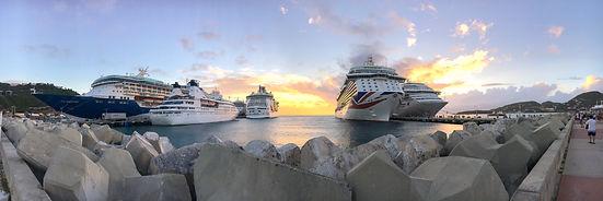 Philipsburg, cruise, St Maarten, P&O, Britannia, TUI Discovery, Freedom of the Seas