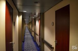 Coursives cabines (ponts 4, 5 et 7)