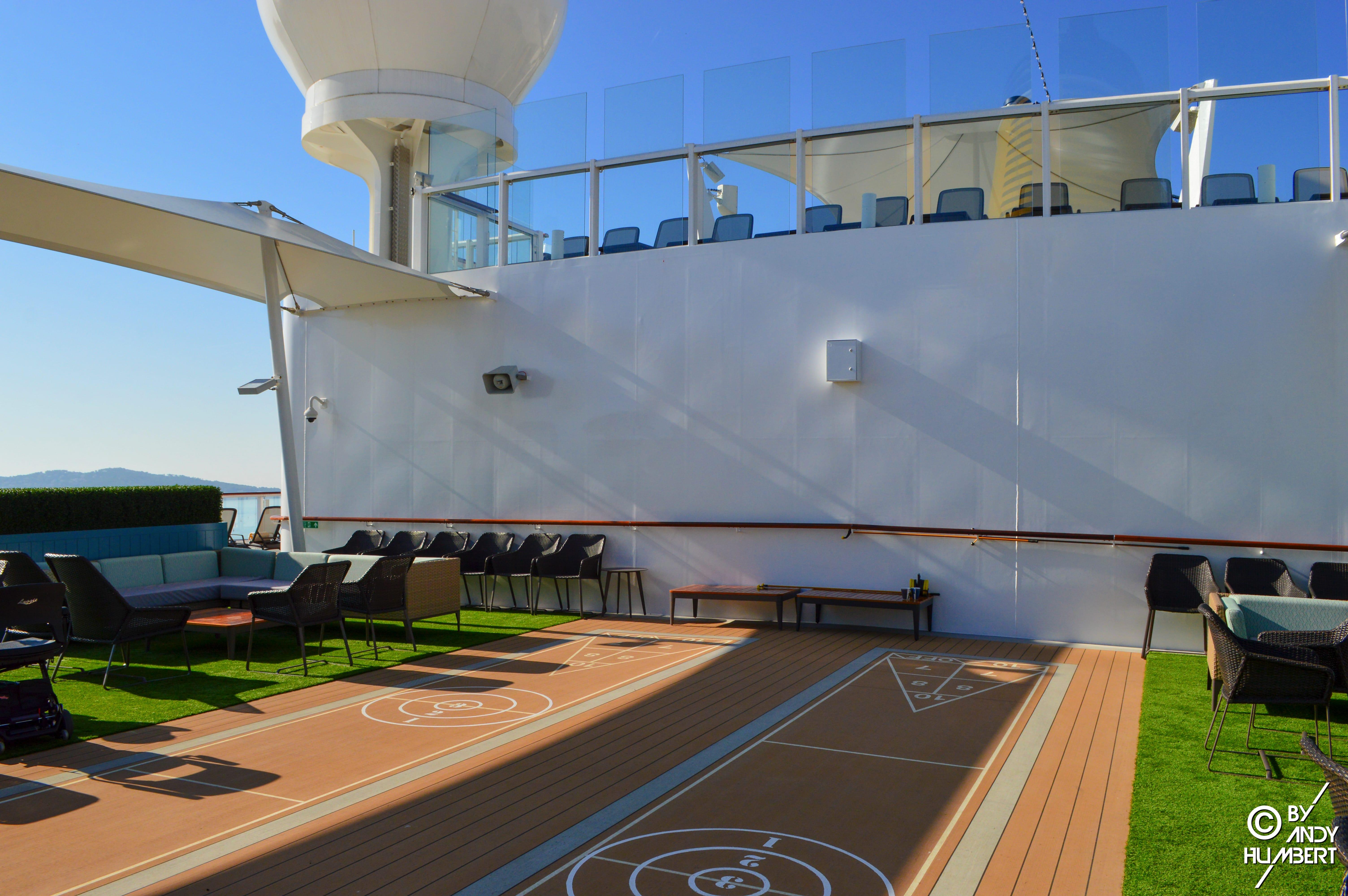 Outdoor Games Area (Sun deck)