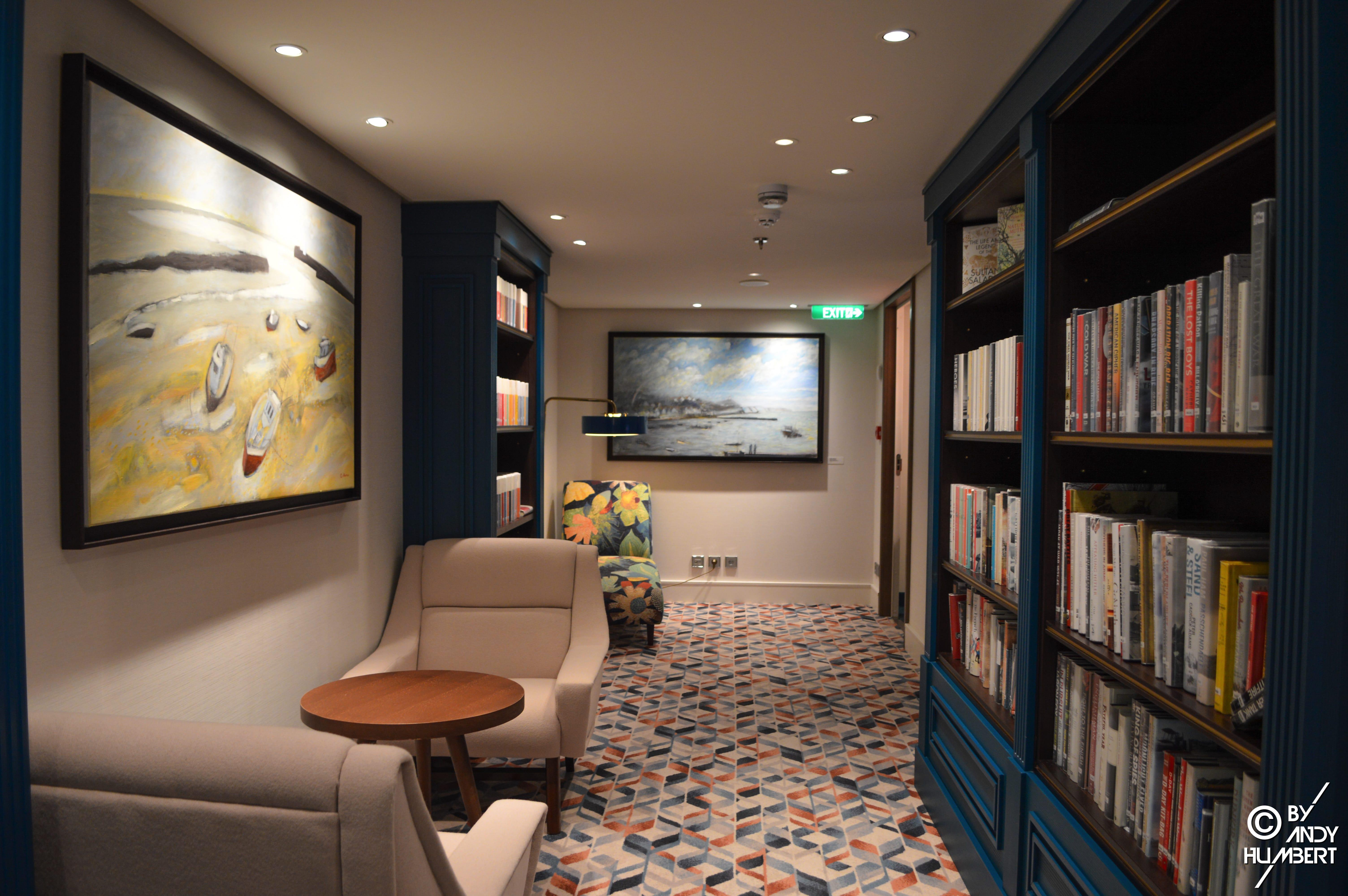 The Library (E deck)