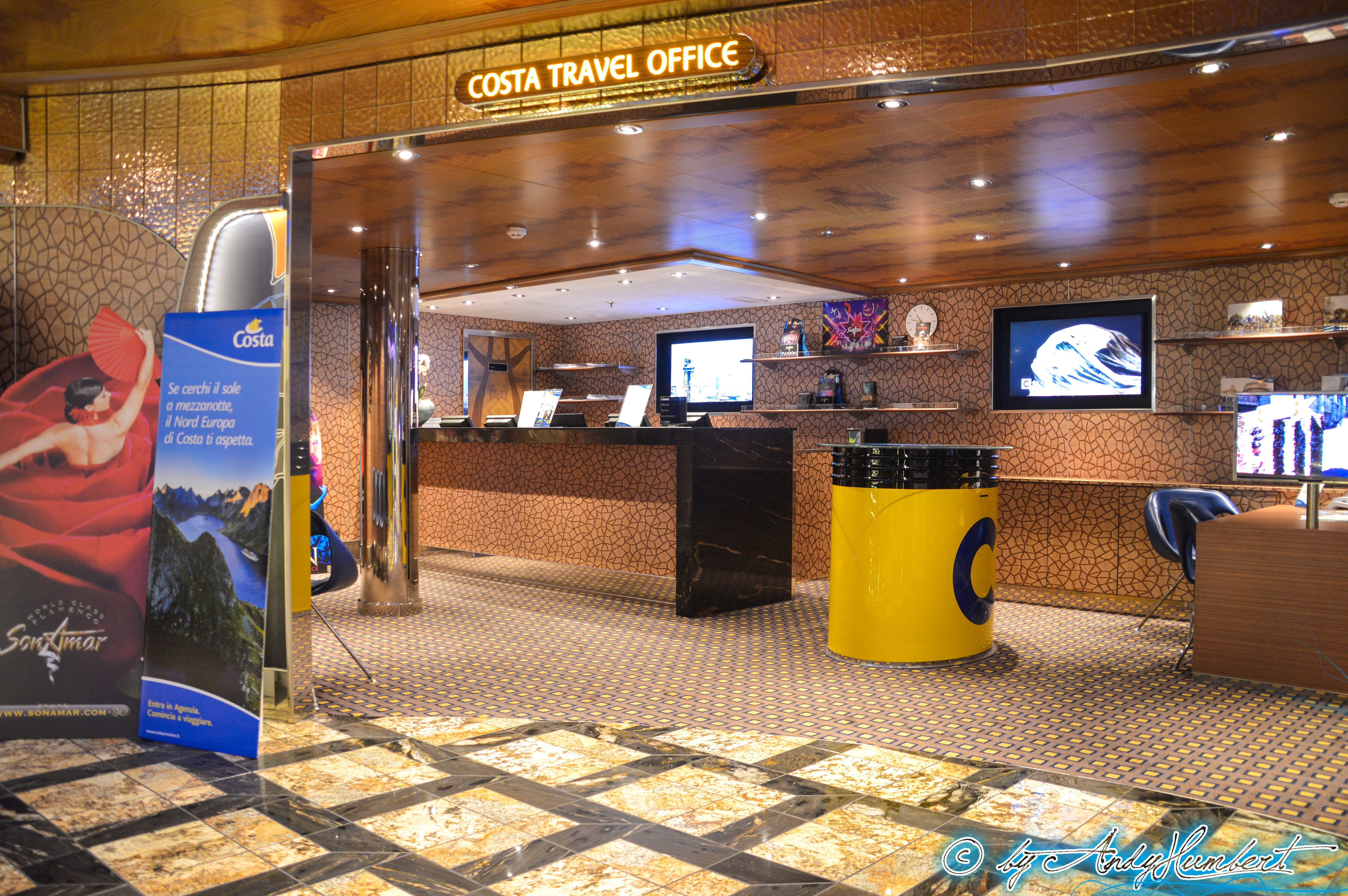Costa Travel Office (ponts 4 et 5)
