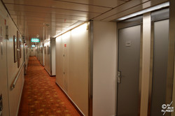 Coursive cabines (pont 11 Navigator's)