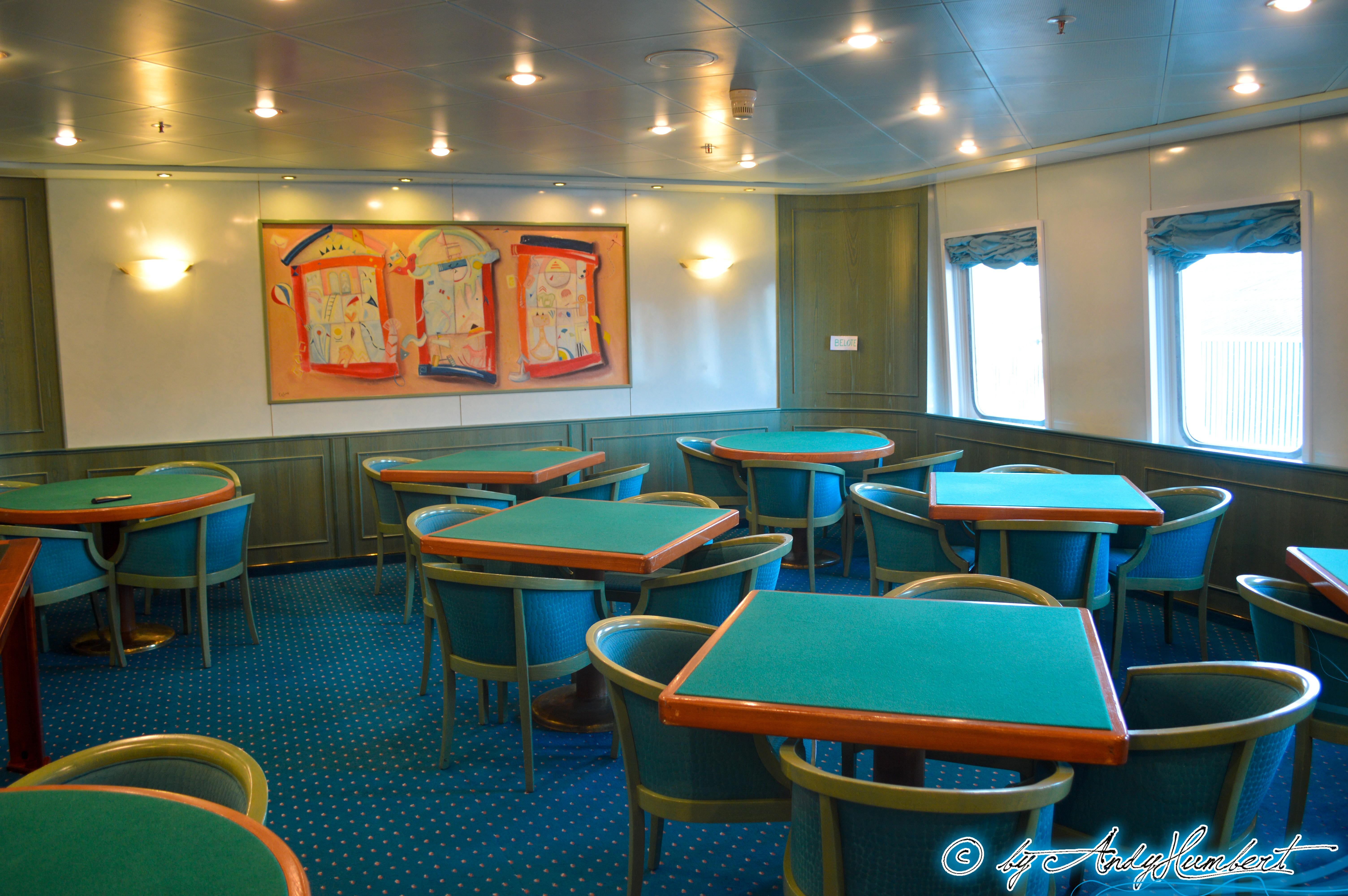 Salle de jeux de carte (pont 4B)
