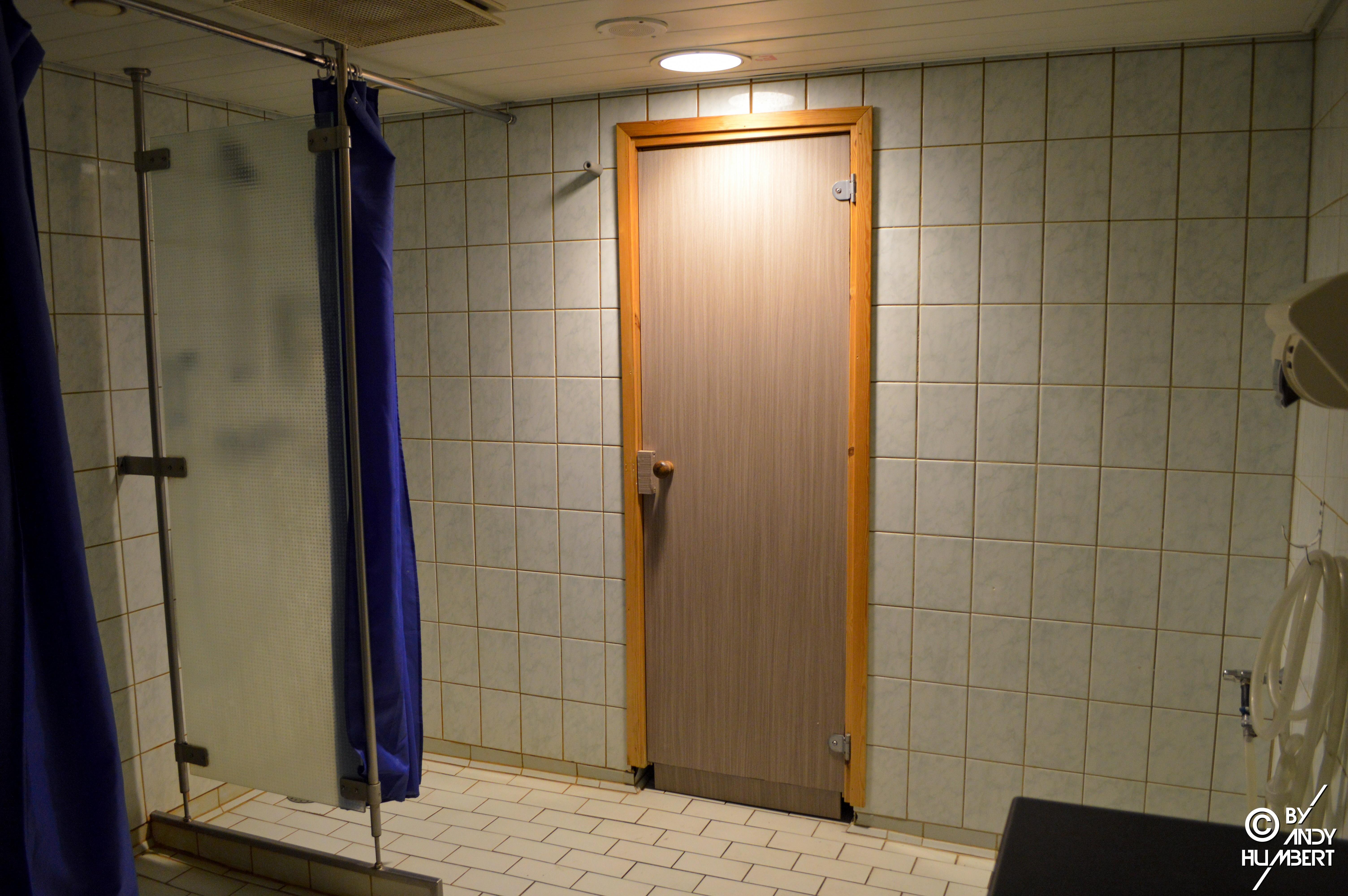 Espace sauna (pont 8)