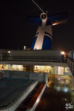 Sun deck (pont 11 Navigator)