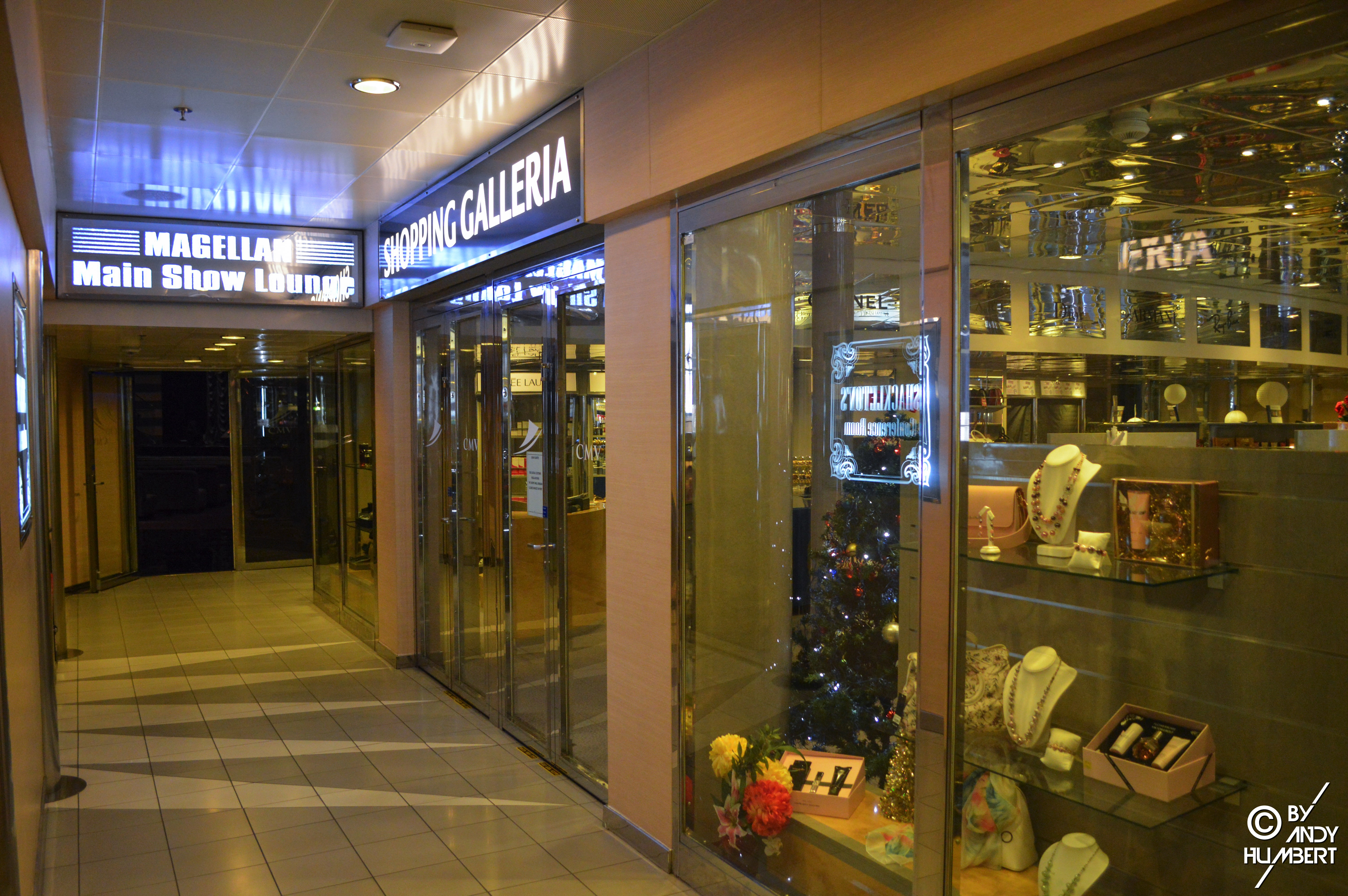 Shopping Galleria (pont 8 Amundsen)