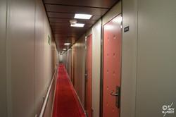 Coursives des cabines (pont 5)