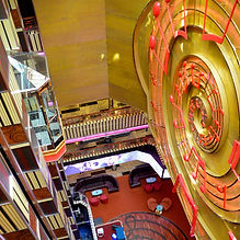 Atrium Welcome Costa Pacifica