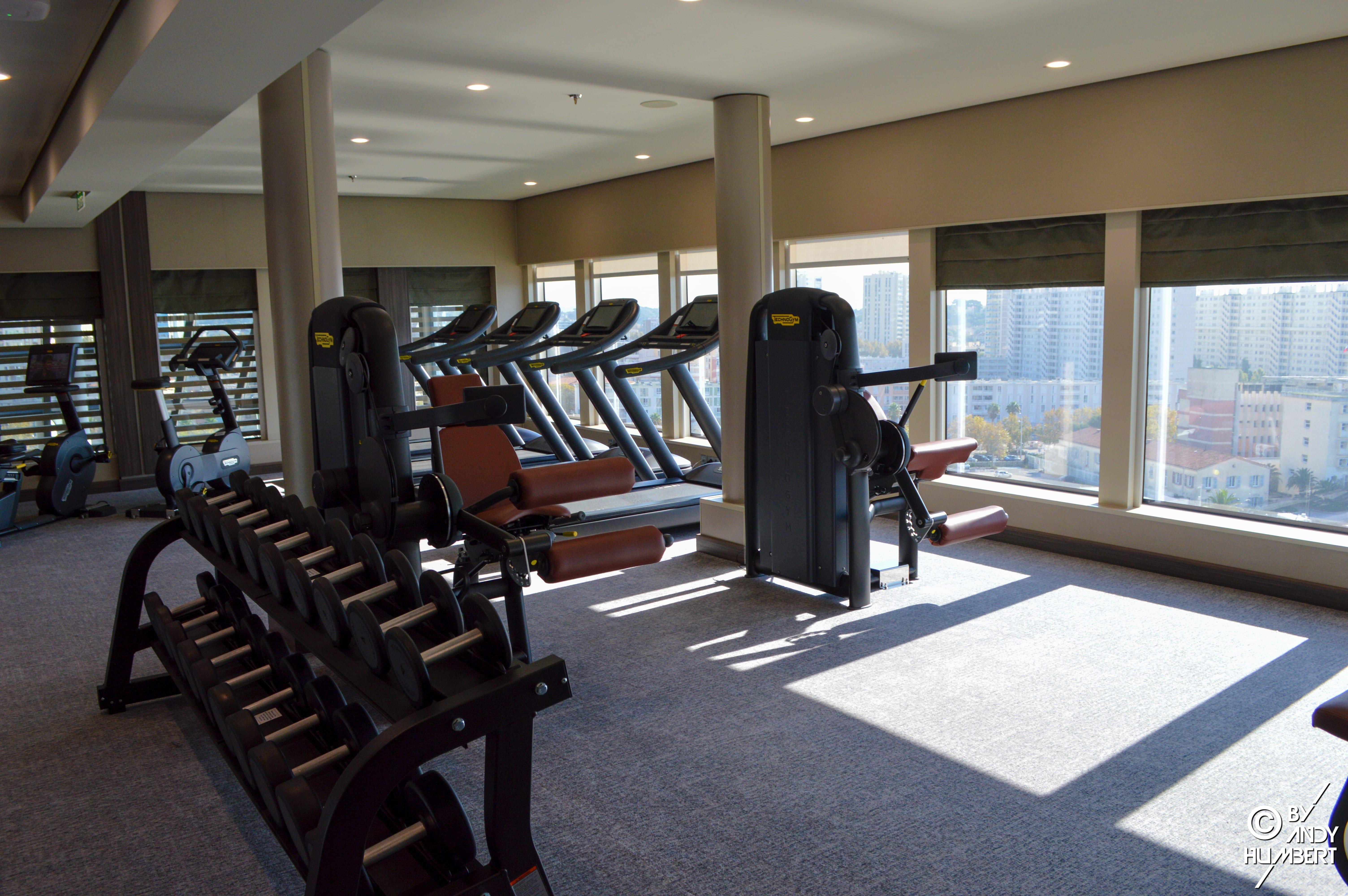 The Fitness Center (Sun deck)