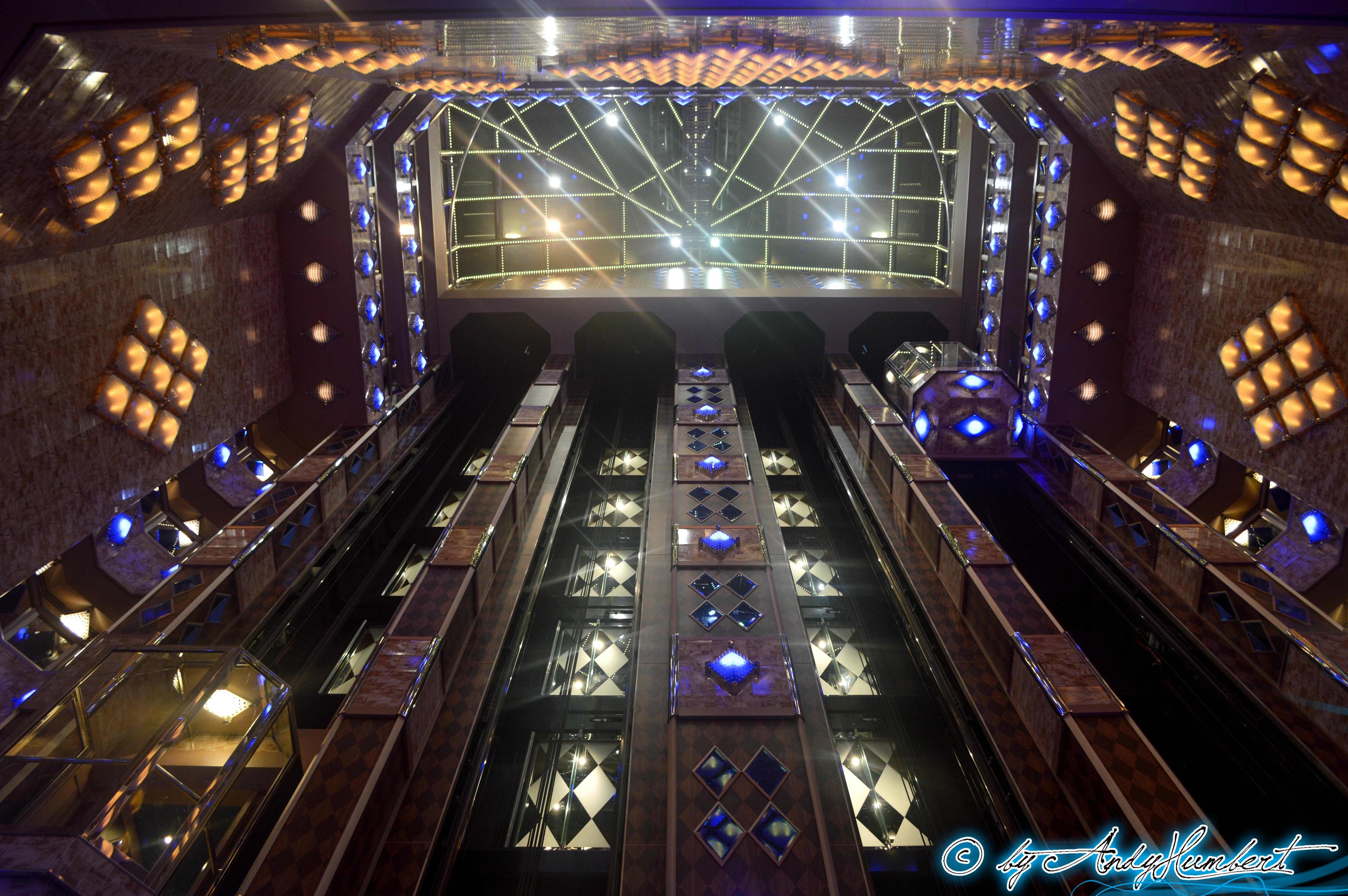Atrio dei Diamanti (ponts 3 à 12)