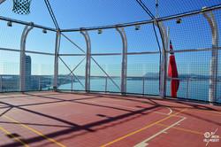 Sports court (Observation deck)