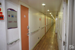 Coursive cabines (pont 7)