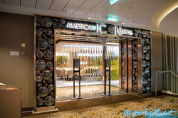 """Entrée de l' """"American Icon Grill"""""""