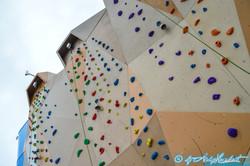 Mur d'escalade (pont 15)