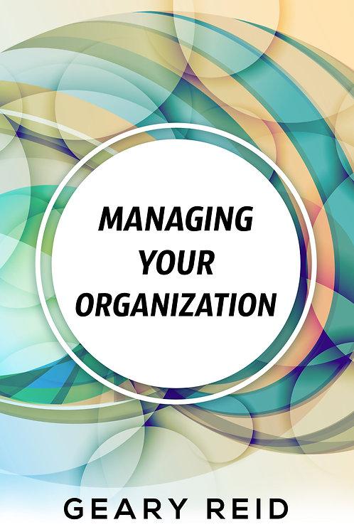 Managing your Organization