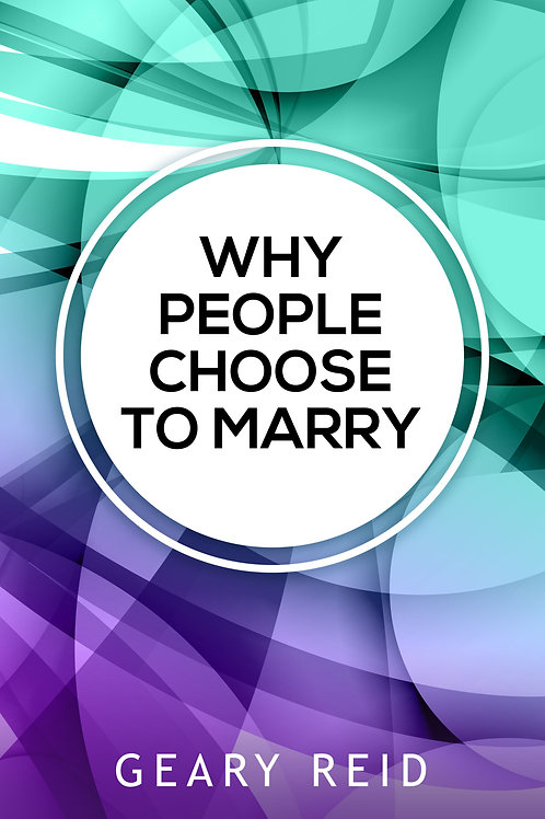Why People Choose to Marry