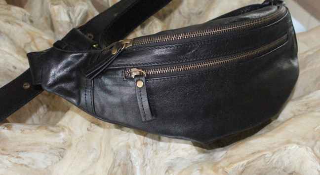 Leather Bum bag_