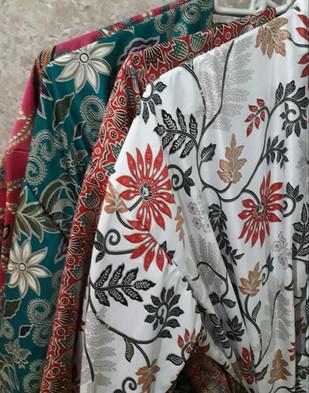 100% Silk robes