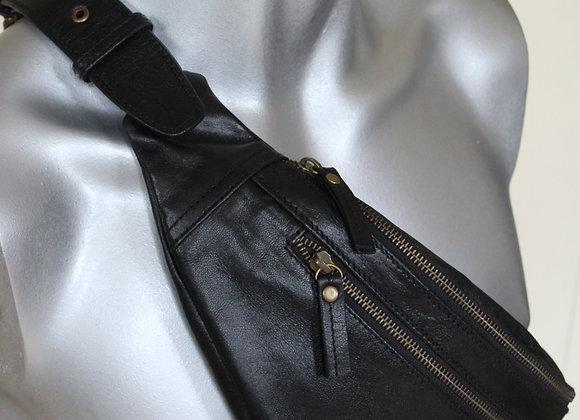 Leather handmade Bum bag