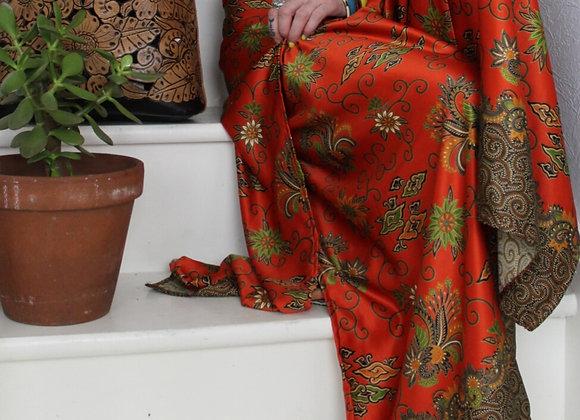 Boho Style Silk Split Trourses