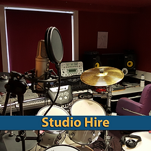 hire our speech studios but also hire our post prodcutions studio at Cue and Review