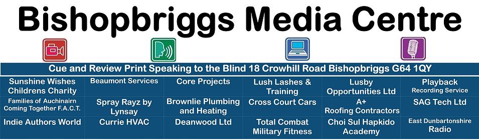 Image of Bishopbriggs Media Centre Address board