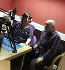 East Dunbartonshire Radio volunteer presenters in studio