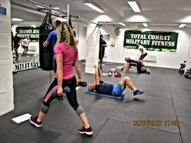 Circuit training at the TCMF gym Bishopbriggs