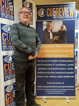 Access to Audio Ambassador Team Leader with his banner