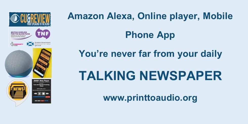 ASTN Alexa App and Online player advert.