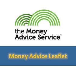 Image button for Money Advice Leaflet