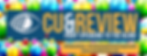 Cue and Revew Celebration Logo